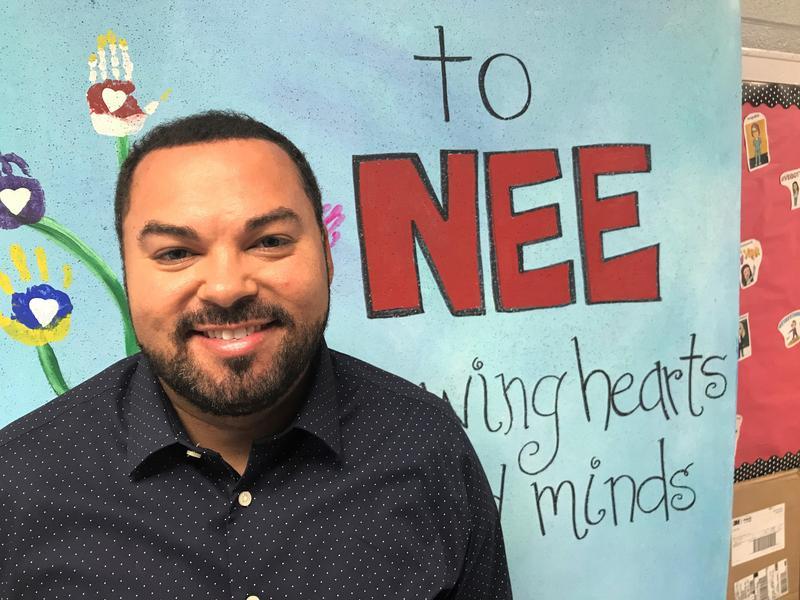 NEE Assistant Principal Zachari Ruff