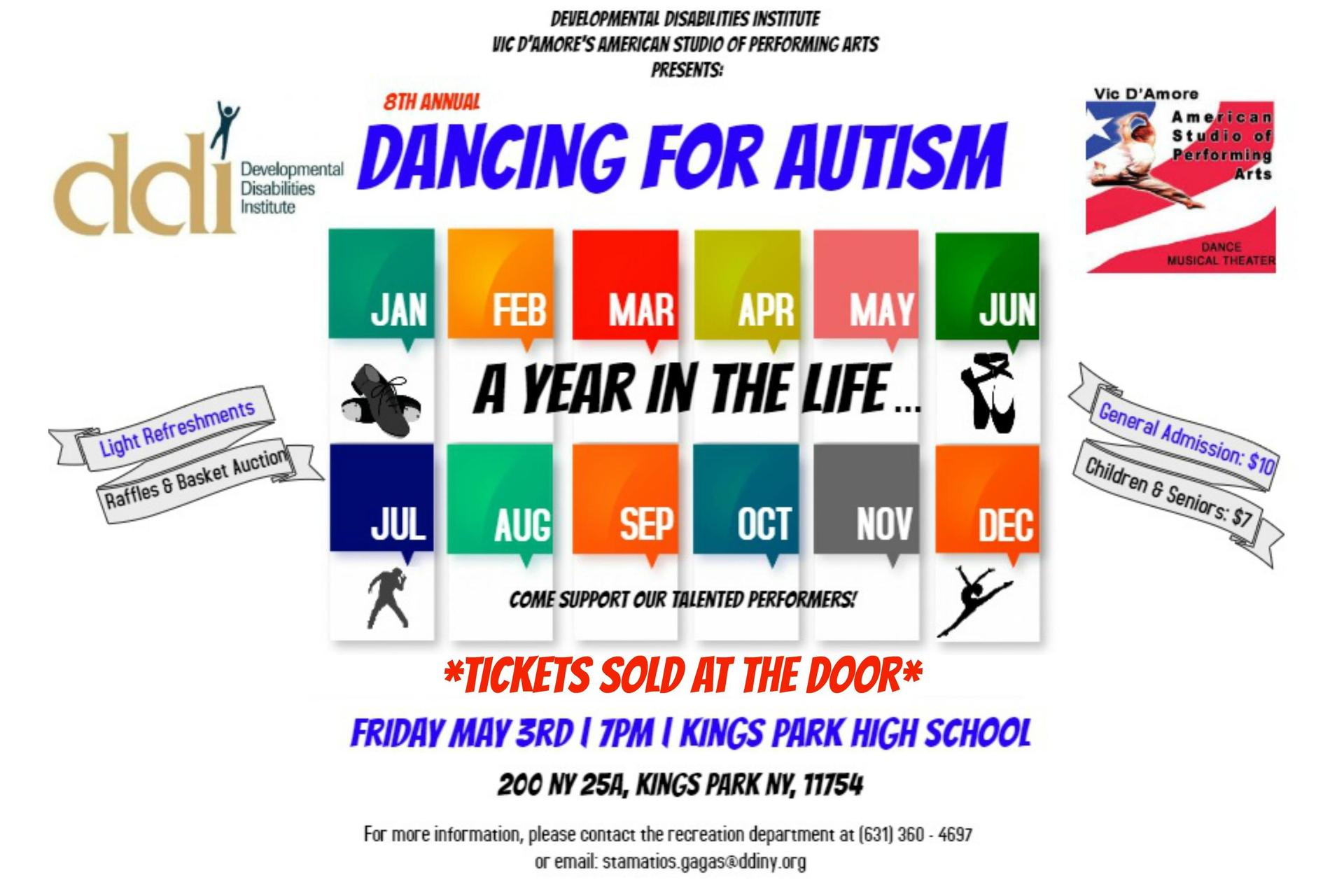 Dancing for Autism 2019