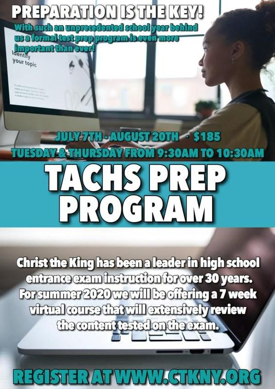 CK Virtual TACHS  Prep Program Featured Photo