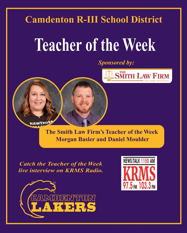 Laker Feature Teacher of the Week Featured Photo