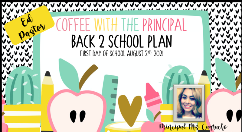 Back to School Plan 2021 Featured Photo