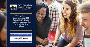 CECP ranked in top 25% of all Colorado schools