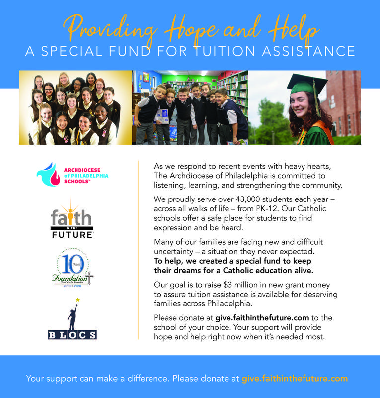 DOUBLE your tuition assistance donation now Featured Photo