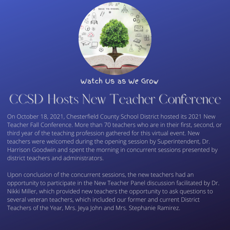 CCSD Hosts New Teacher Conference Featured Photo