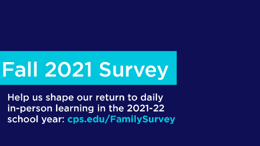 Parents--please take part in the Fall 2021 survey! Featured Photo