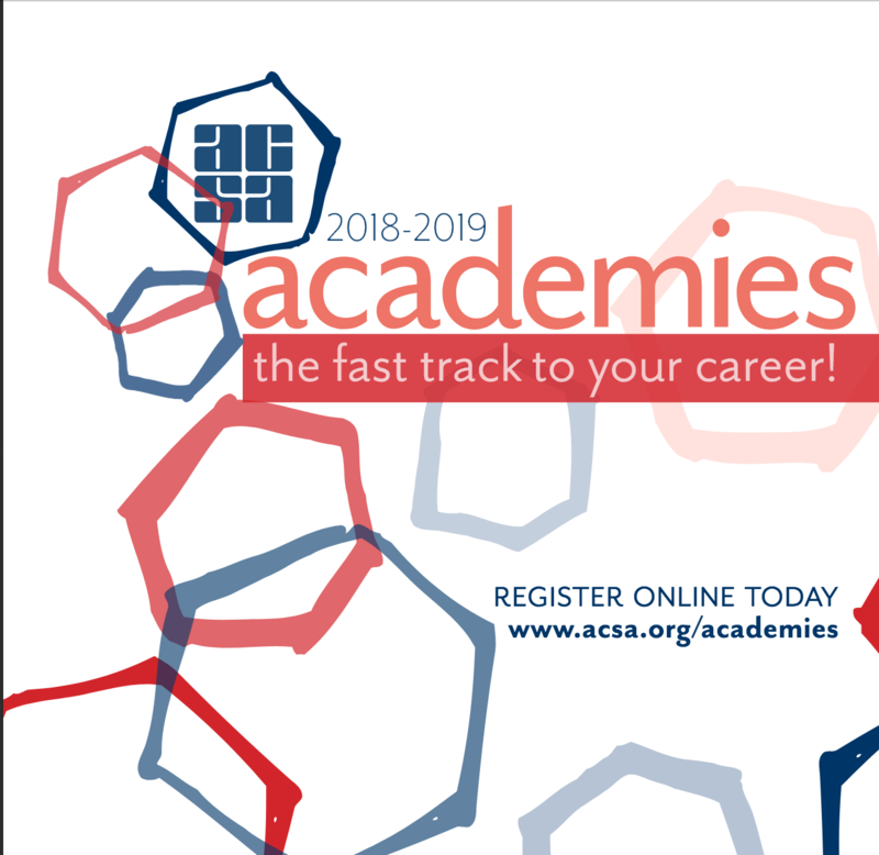 ACSA Academies have Launched! Featured Photo