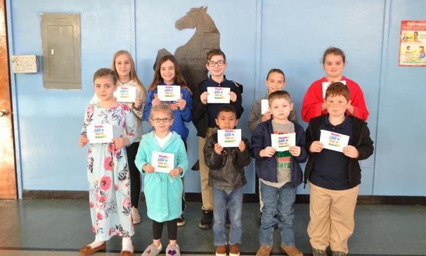 Winners of 100th Day of School