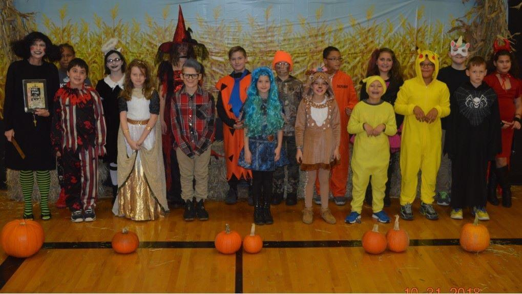 5th Grade Halloween