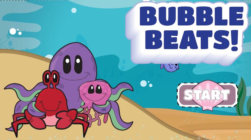 Link to Bubble Beats website