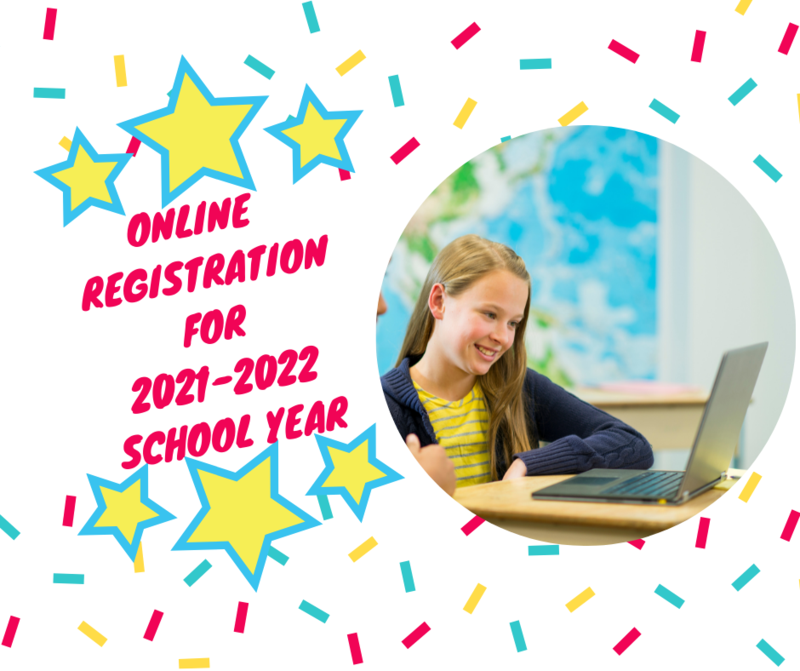 Online Registration For 2021-2022 School Year Featured Photo