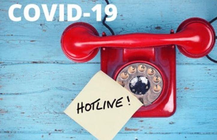 COVID-19 Hotline Featured Photo
