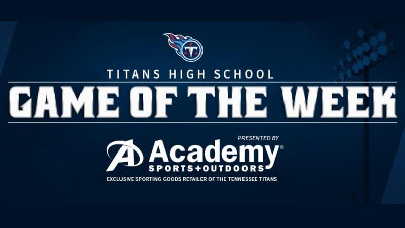 Titans Game of Week