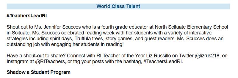 #TeachersLeadRI Featured Photo