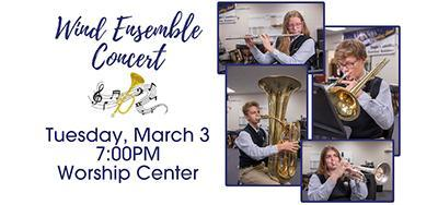 Wind Ensemble Band Concert Featured Photo