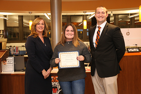HHS Student of the Month - February 2020 - Katherine Stout