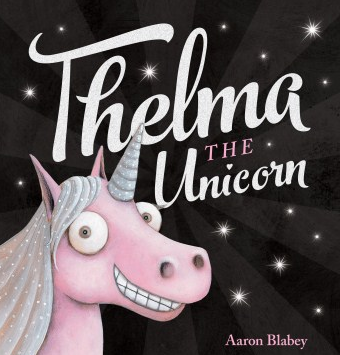 Book cover of Thelma the Unicorn