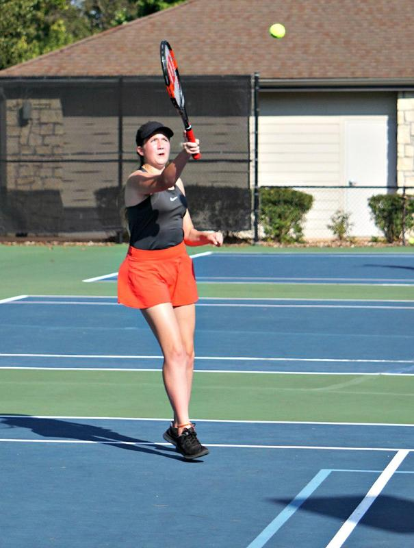 Lady Wolves Tennis Match