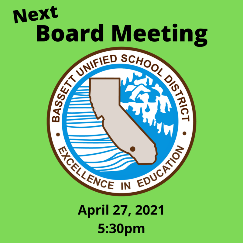 April 27 board meeting 530pm