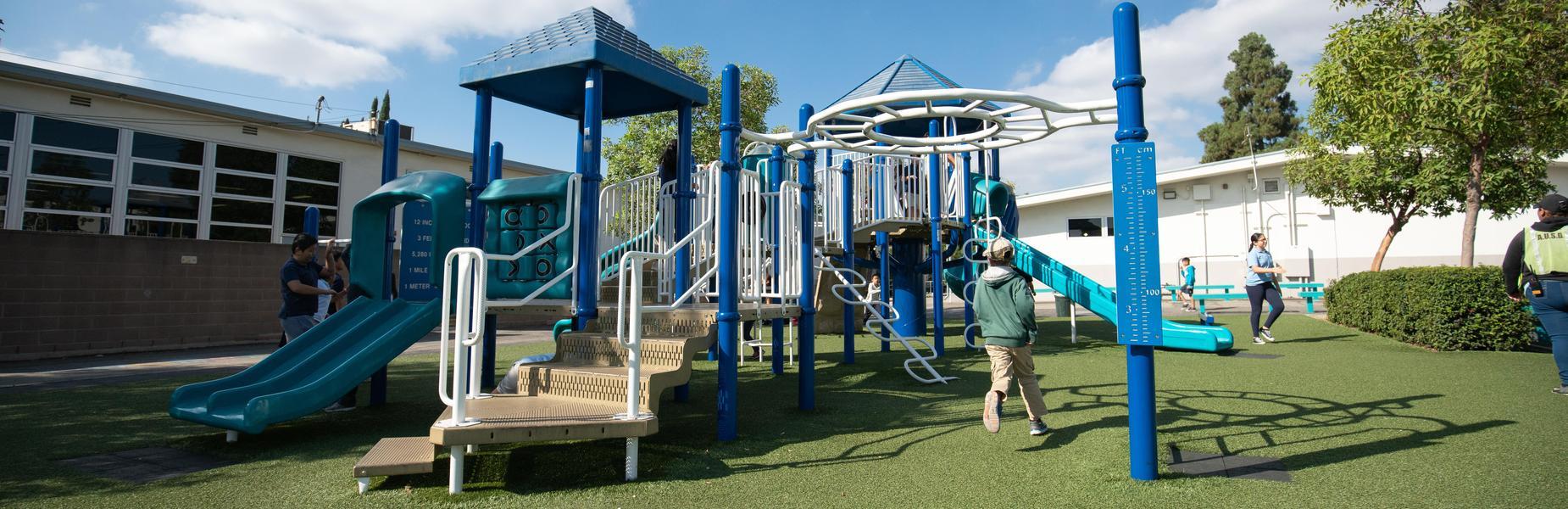 Ynez Playground during recess