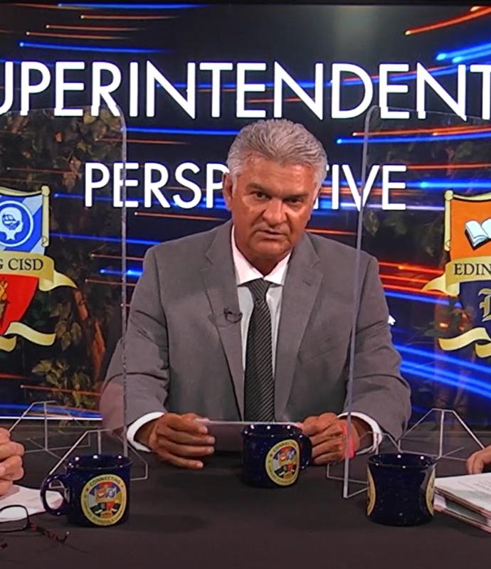 Dr. Mario Salinas Superintendent.