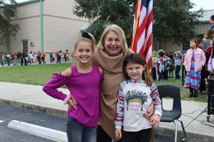 Blanche Thompson SES veterans day 2019
