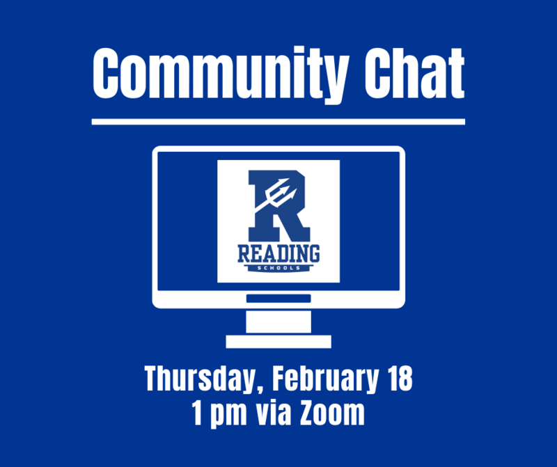 Community Chat Thursday February 18, 1 pm via Zoom