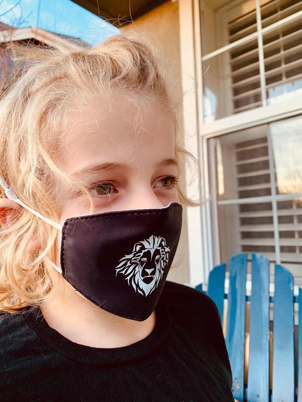 child modeling mask