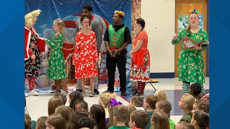 Grinch performance by HHS Drama Club