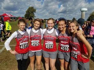 GHS girls cross country team