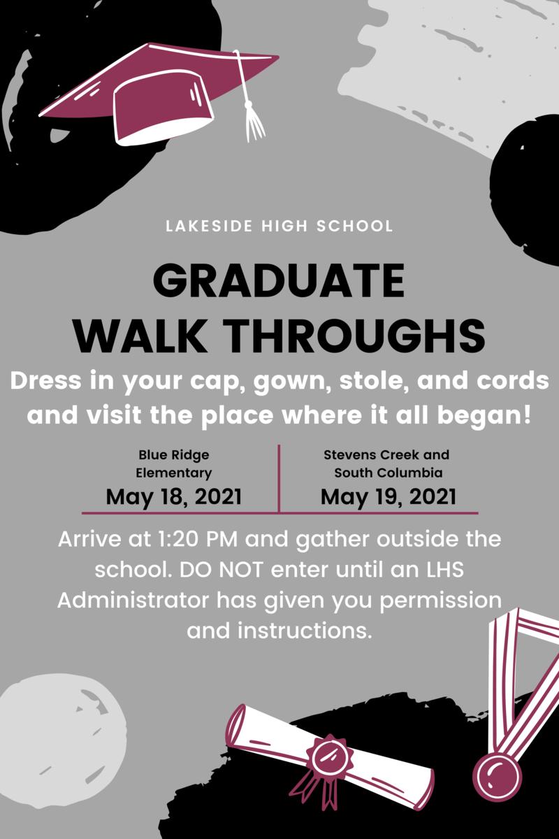 Graduate Walk Through