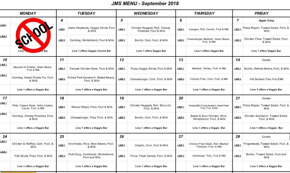 September Lunches