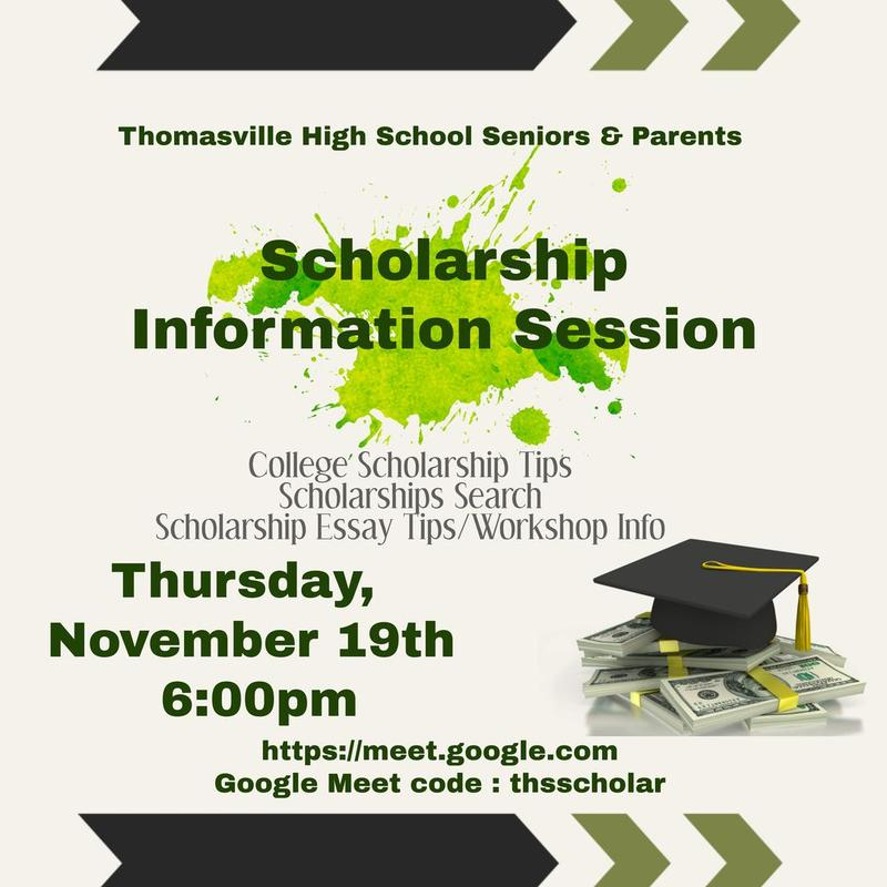 Scholarship Information Session