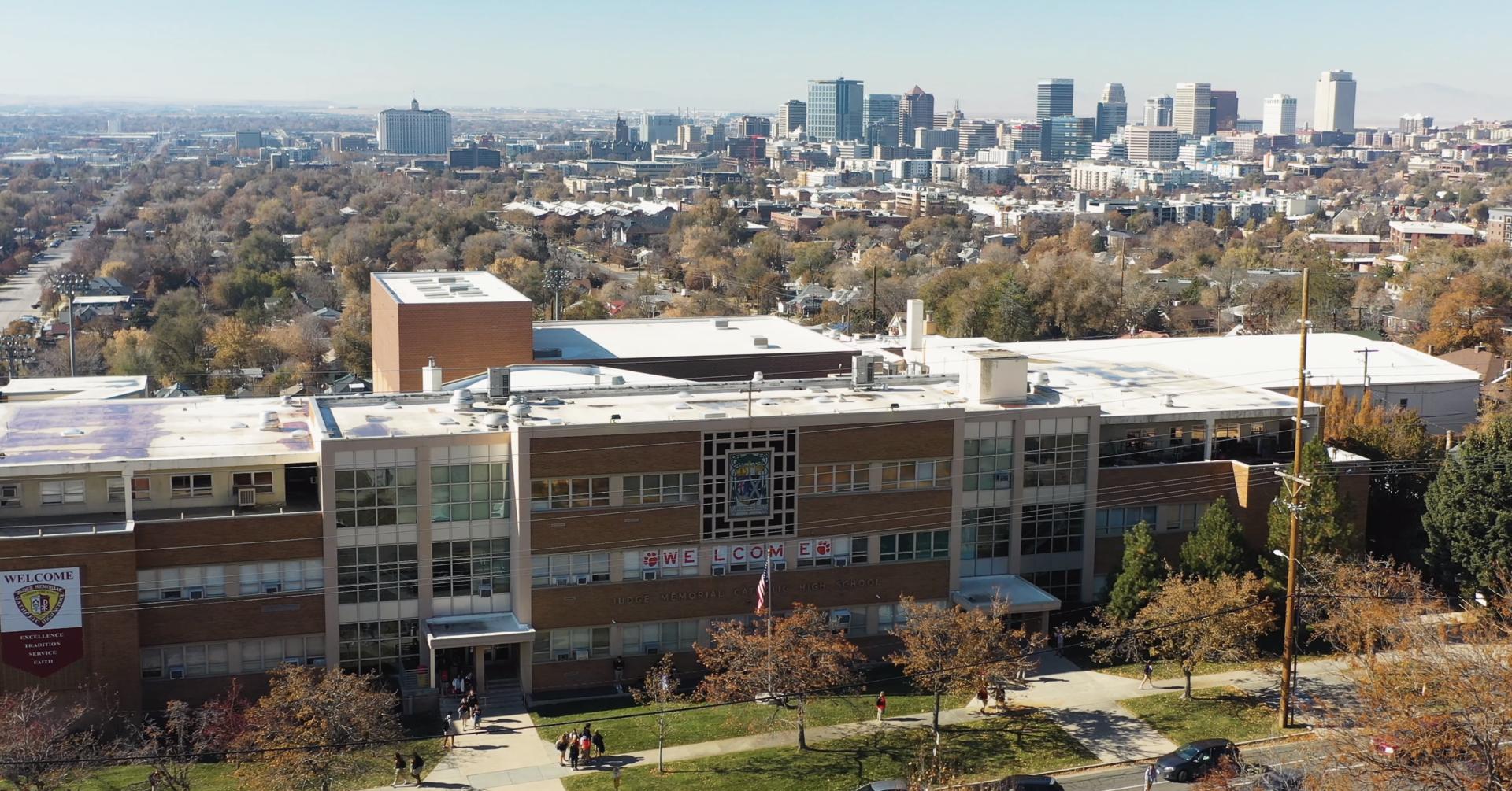daytime campus skyline