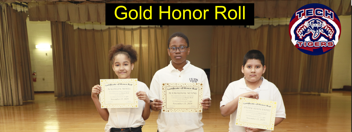6th grade honor Roll