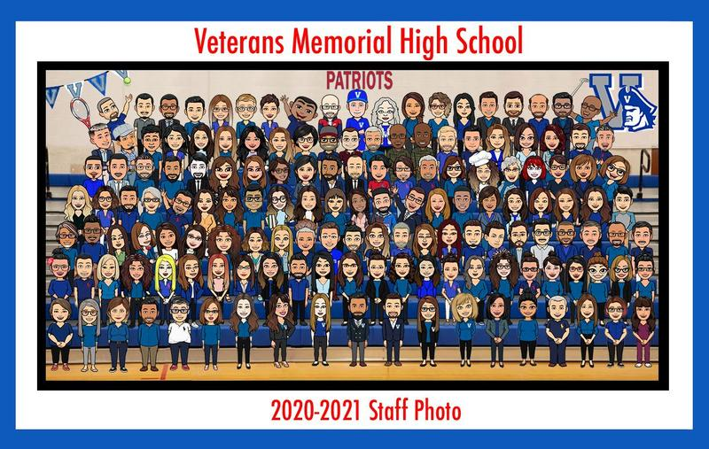 VMHS 2020-2021 Bitmoji Staff Photo! Featured Photo