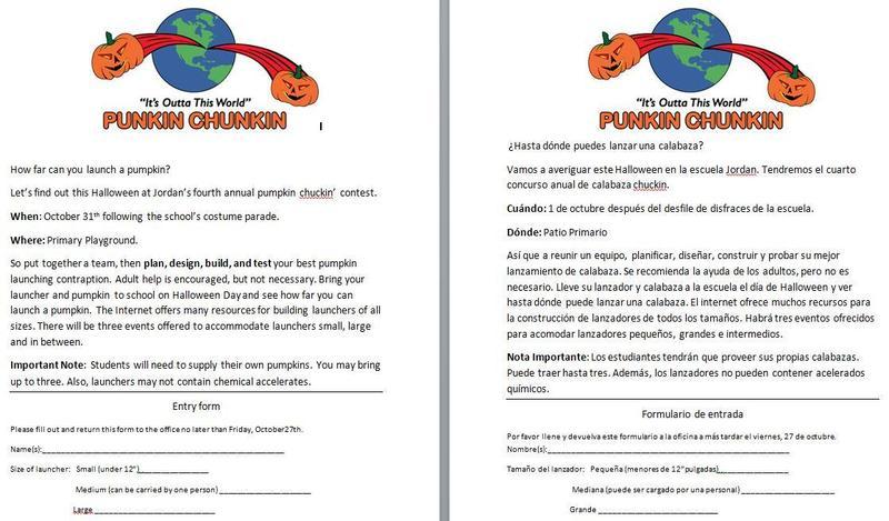 Pumkin Chunkin Contest