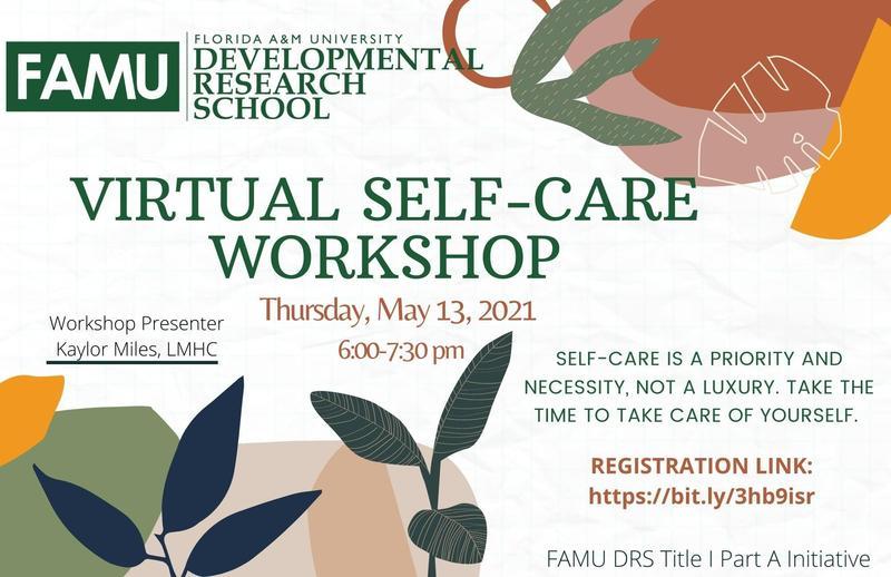 Virtual Self-Care Workshop Featured Photo