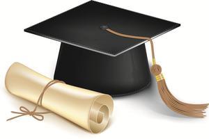 Cap and Diploma