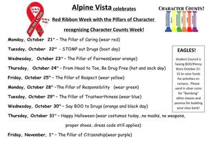 Red Ribbon Week Flier (10/21-11/1)