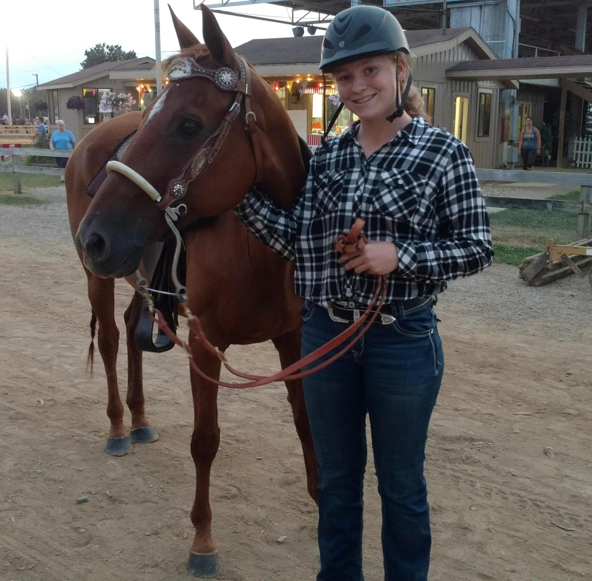 Emily and Horse