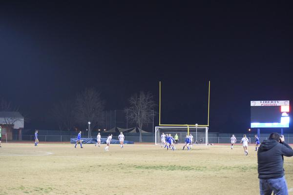 Varsity Girls Soccer vs Frontier