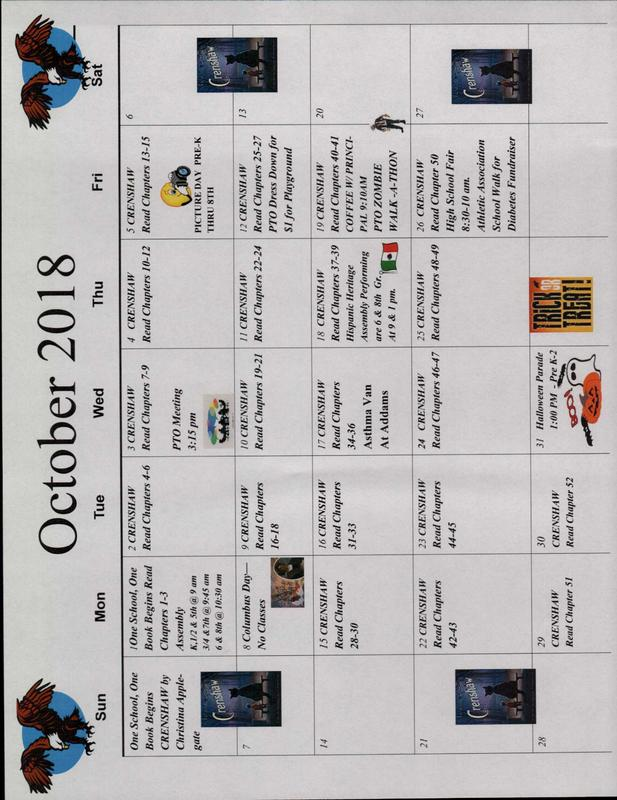 October Calendars Thumbnail Image