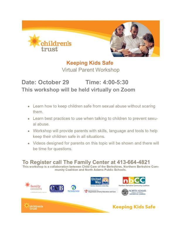 Keeping Kids Safe - a Virtual Parent Workshop Featured Photo