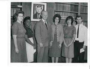 Geneva Singleton Photo with Al Gore, Sr. and other Tennessee students