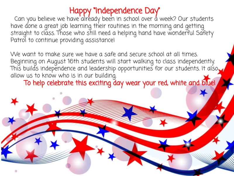 WES Independence Day