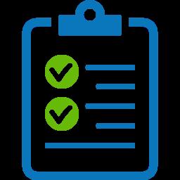 Survey clipboard icon