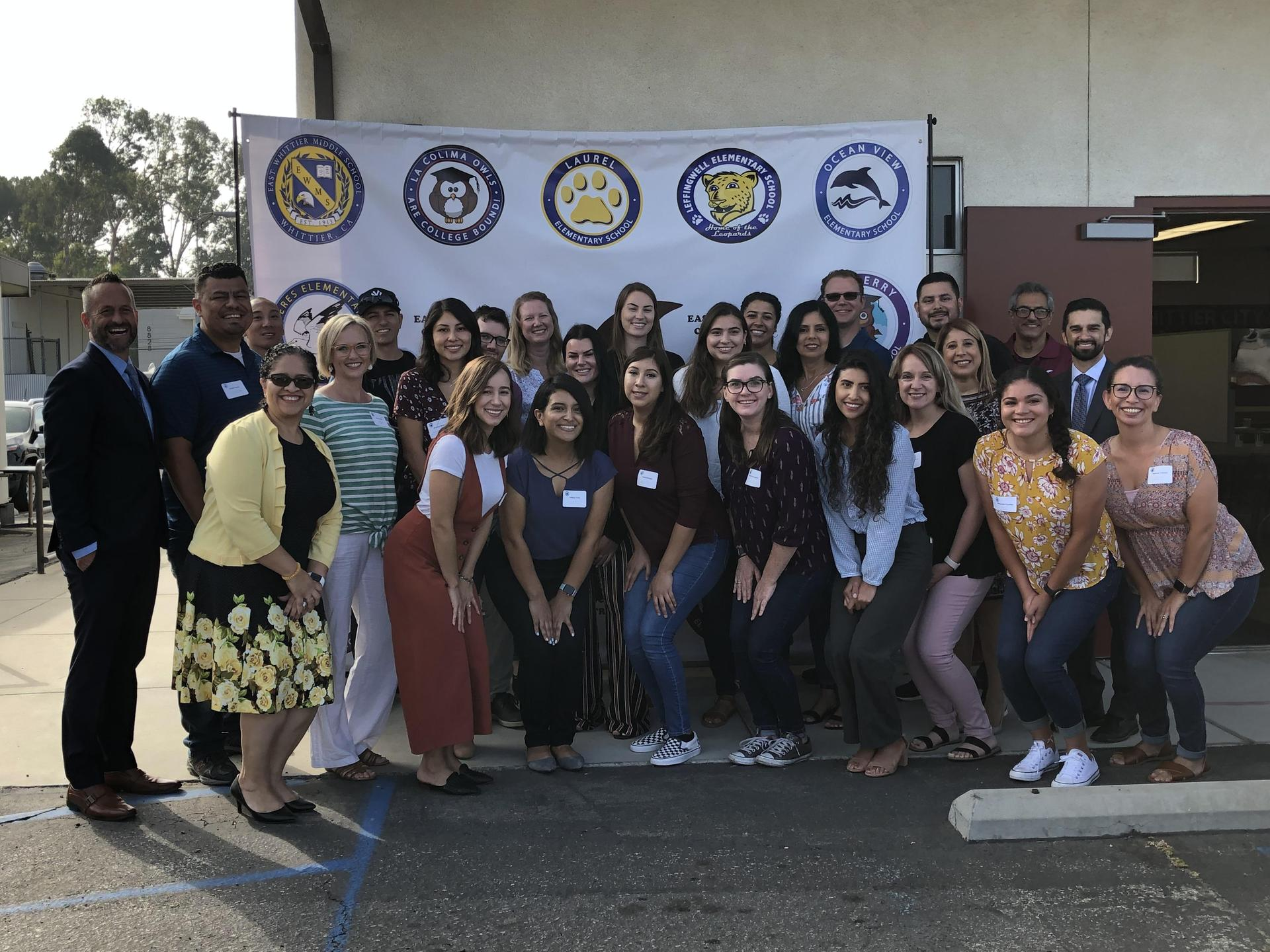 EWCSD's New Teachers