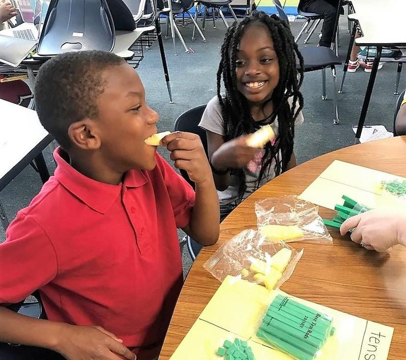 Fresh Fruit & Vegetable Program to be offered in ECPS Elementary Schools Featured Photo