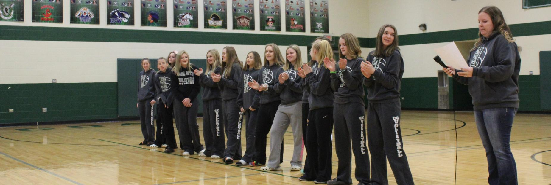 Good luck at state 8th grade volleyball