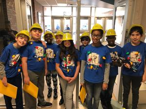 Lego League members ready for competition